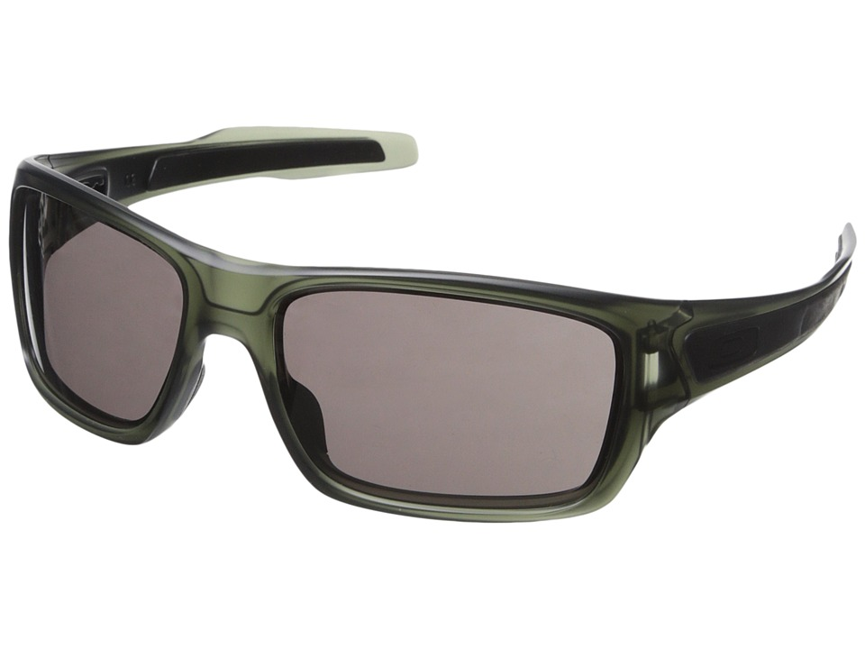 Oakley - Turbine (Matte Olive Ink/Warm Grey) Sport Sunglasses