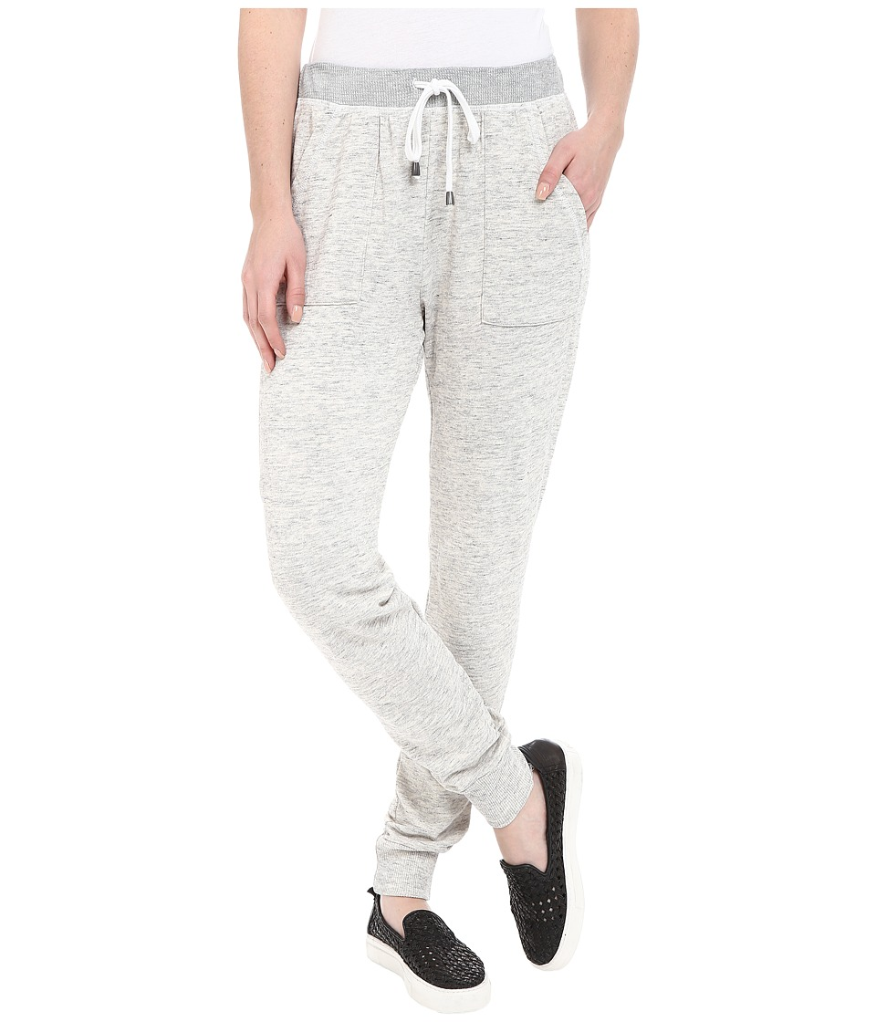 Splendid - Mesa Active Mixed Media Pants (Paper) Women's Casual Pants