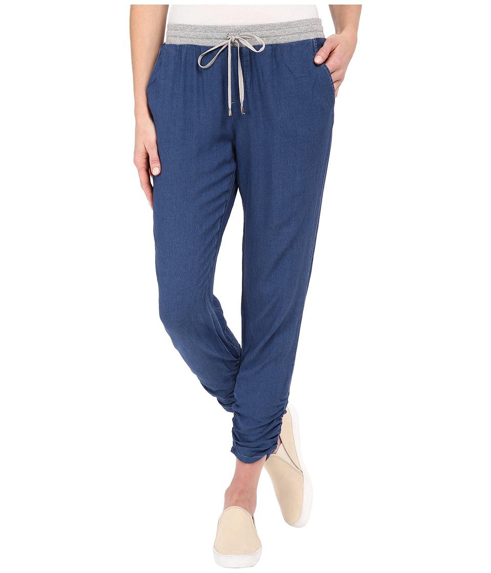 Splendid - Rayon Crosshatch Pants (Medium Wash) Women's Casual Pants