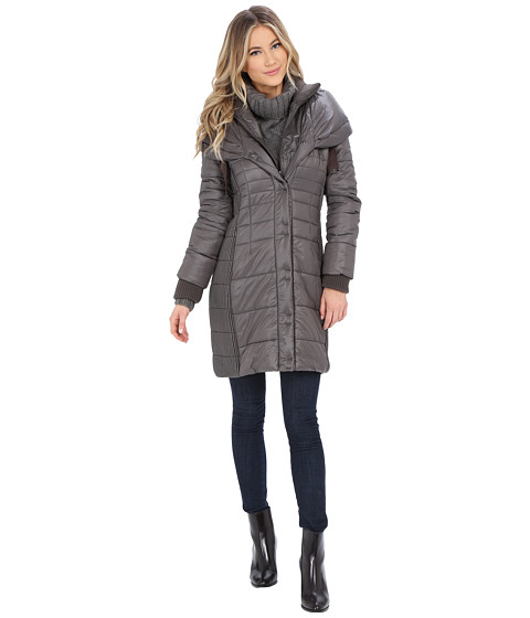 T Tahari - Paulette Packable (Horizon) Women's Coat