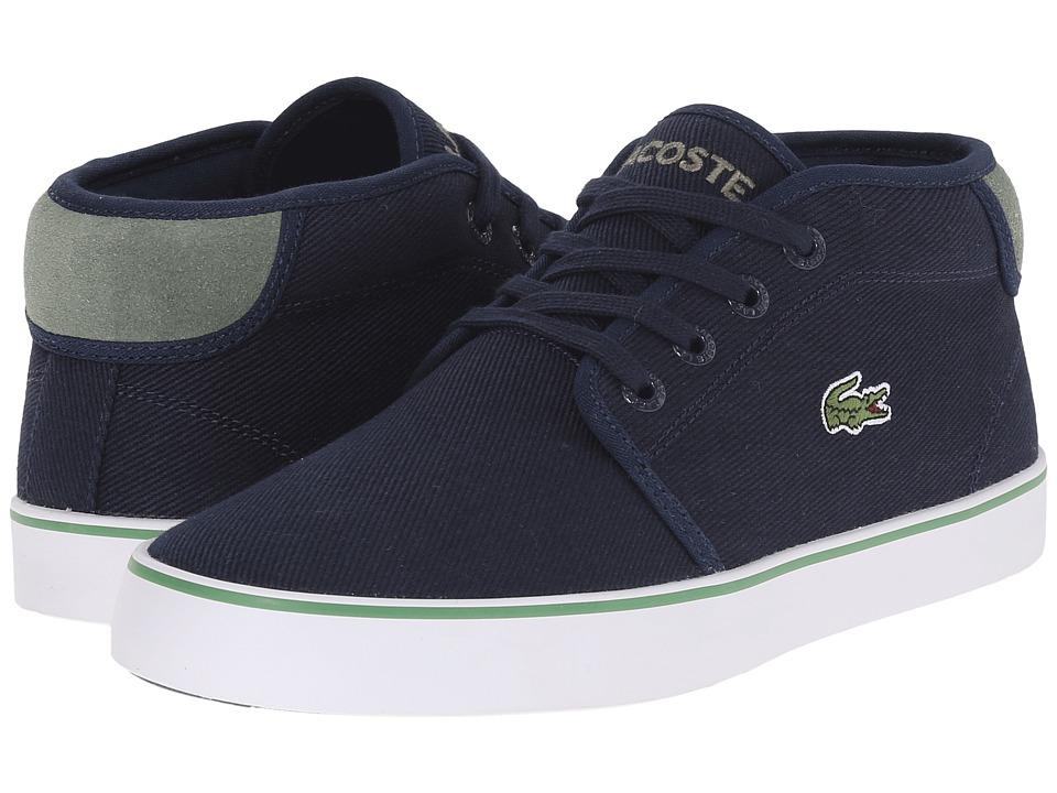 Lacoste Kids - Ampthill 116 2 SP16 (Little Kid/Big Kid) (Navy) Kid's Shoes