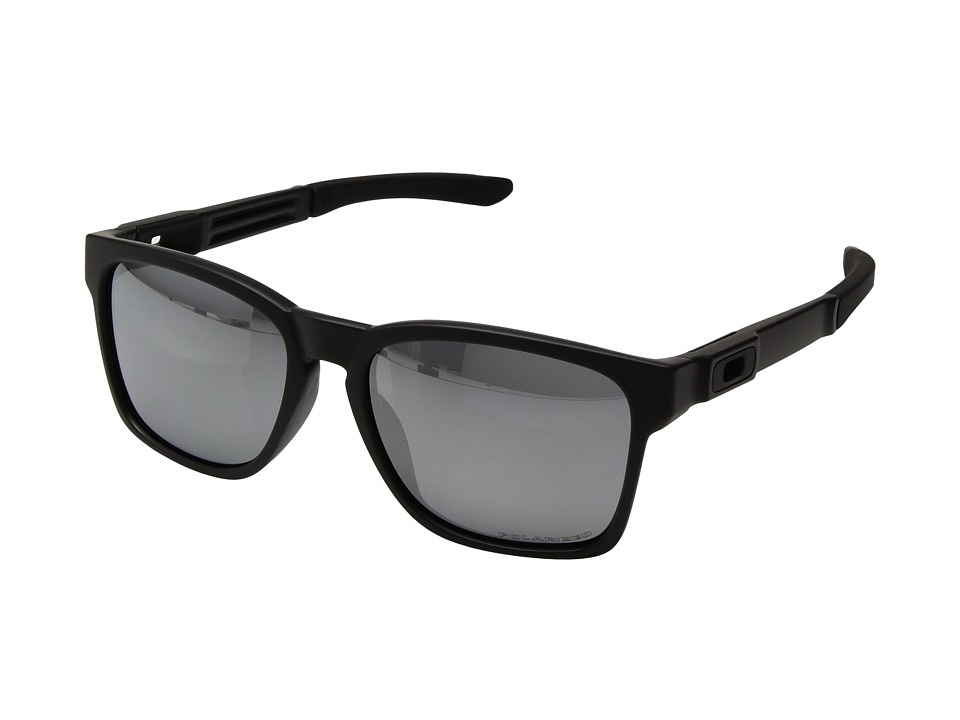 Oakley - Catalyst (Matte Black/Black Iridium Polarized) Snow Goggles