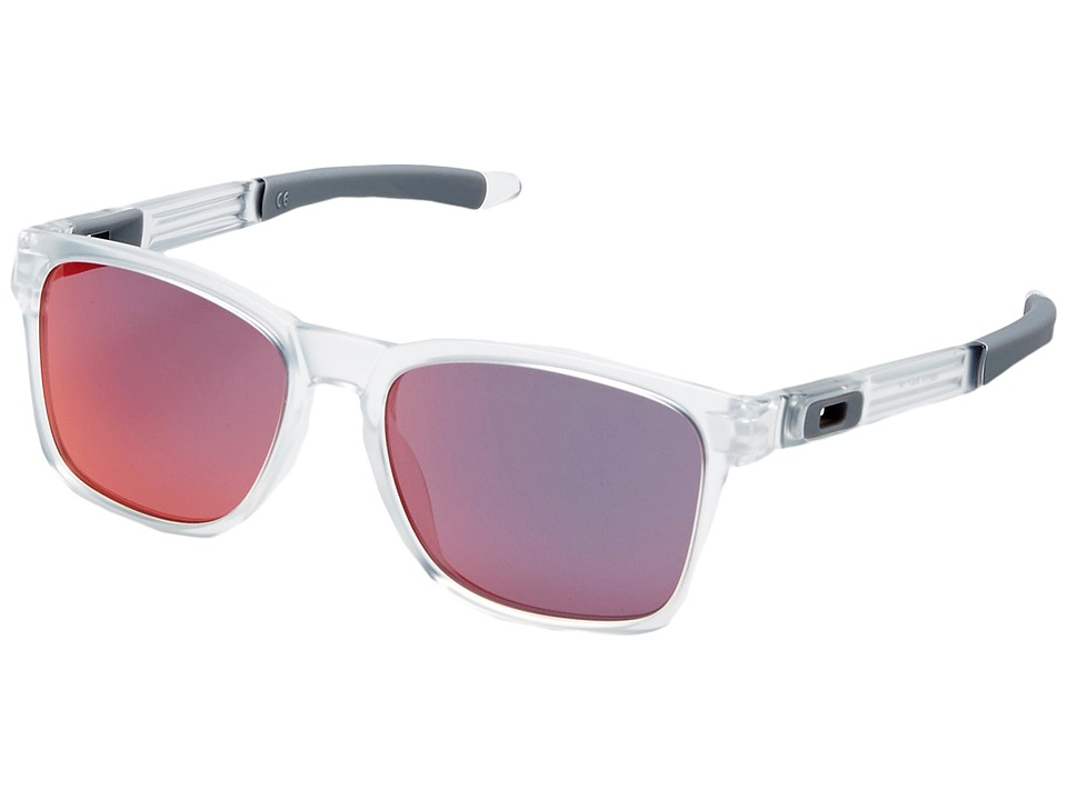 Oakley - Catalyst (Matte Clear/Torch Iridium) Snow Goggles