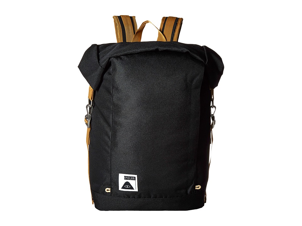 Poler - Rolltop Backpack (Black 1) Bags