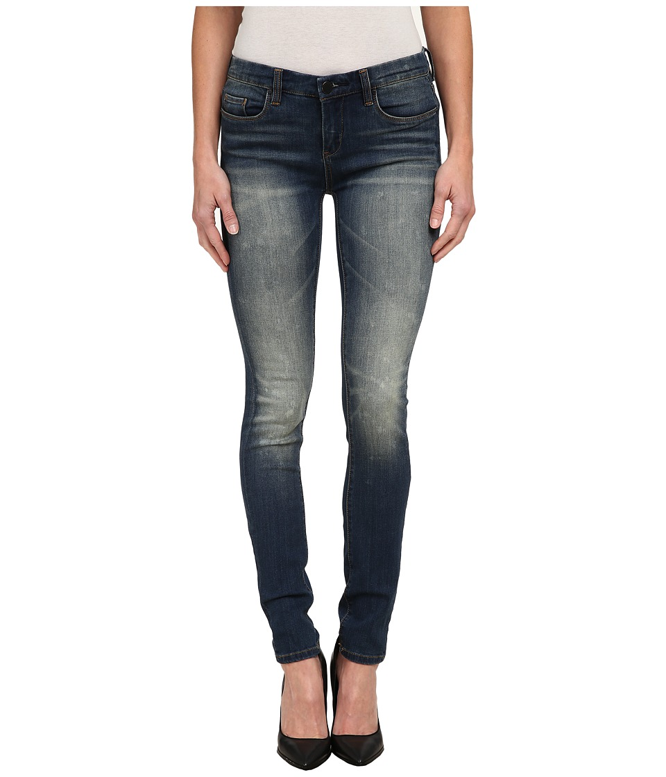 Blank NYC - Distressed Denim Skinny - Washed Out in Denim Blue (Denim Blue) Women's Jeans
