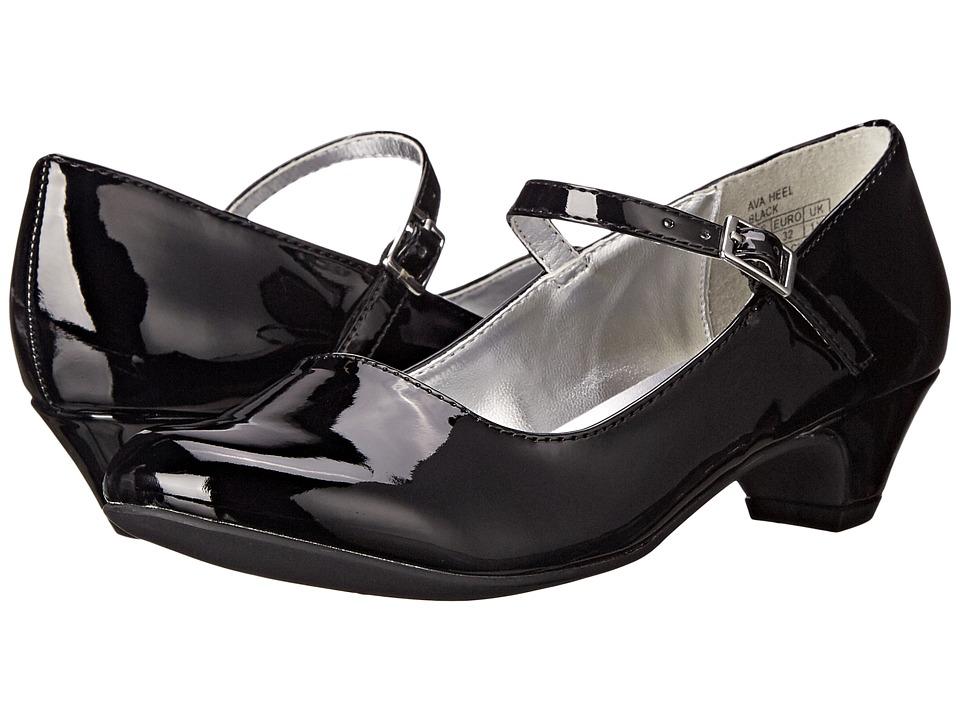 Kenneth Cole Reaction Kids - Ava Heel (Little Kid/Big Kid) (Black) Girls Shoes
