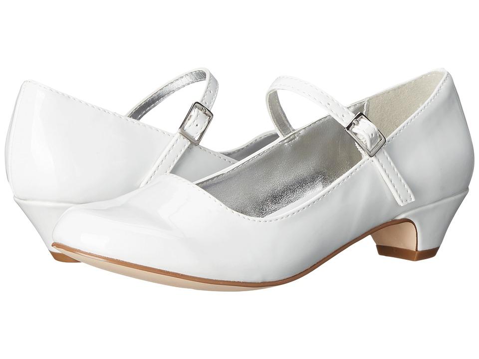 Kenneth Cole Reaction Kids - Ava Heel (Little Kid/Big Kid) (White) Girls Shoes