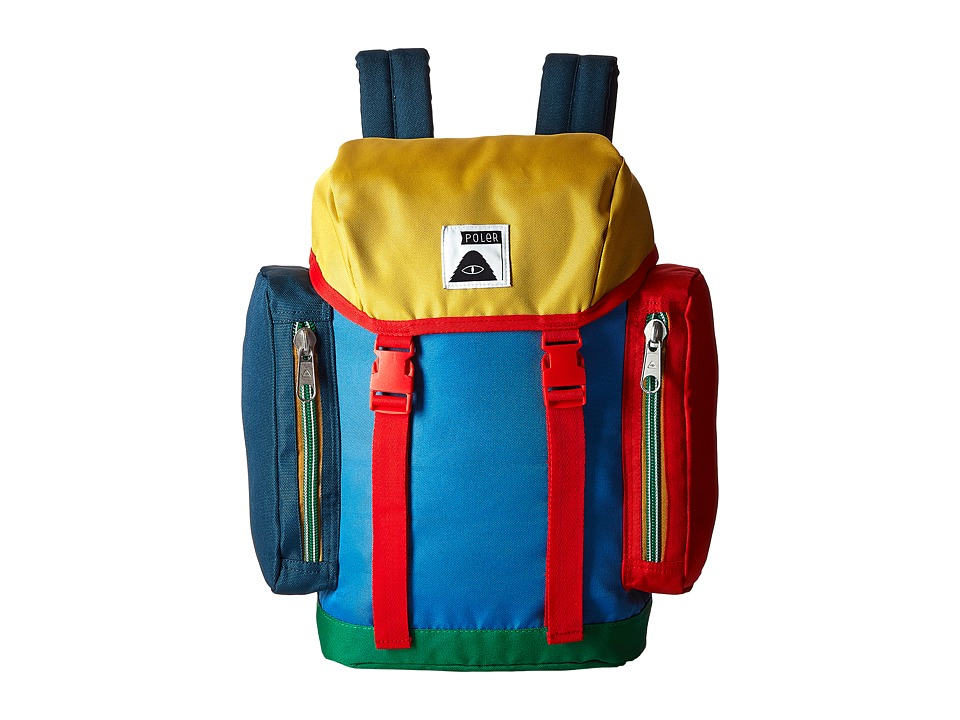 Poler - Mini Rucksack (Little Kids/Big Kids) (Daphne) Backpack Bags
