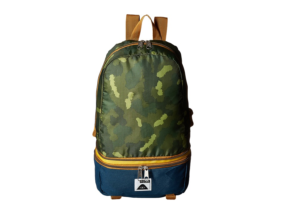 Poler - Tourist Pack (Green Camo) Backpack Bags