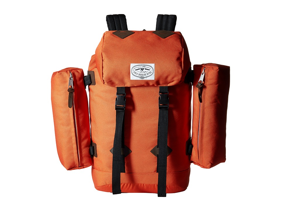 Poler - Retro Rucksack (Burnt Orange) Backpack Bags