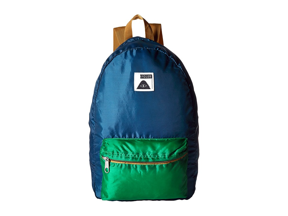 Poler - Stuffable Pack (Blue Steel) Backpack Bags