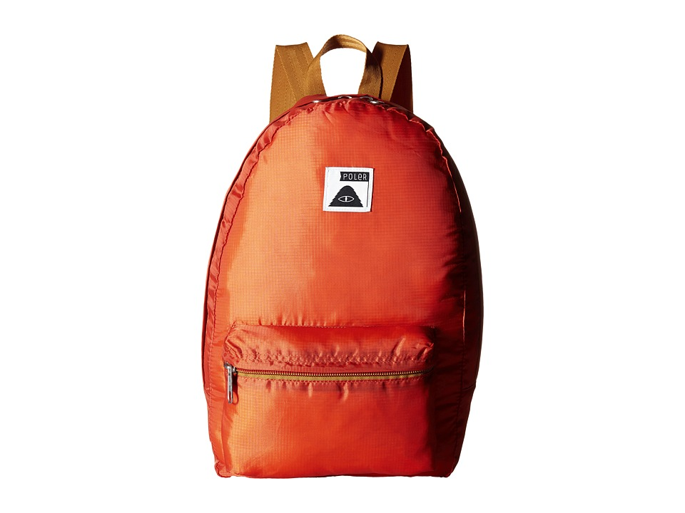 Poler - Stuffable Pack (Burnt Orange 1) Backpack Bags