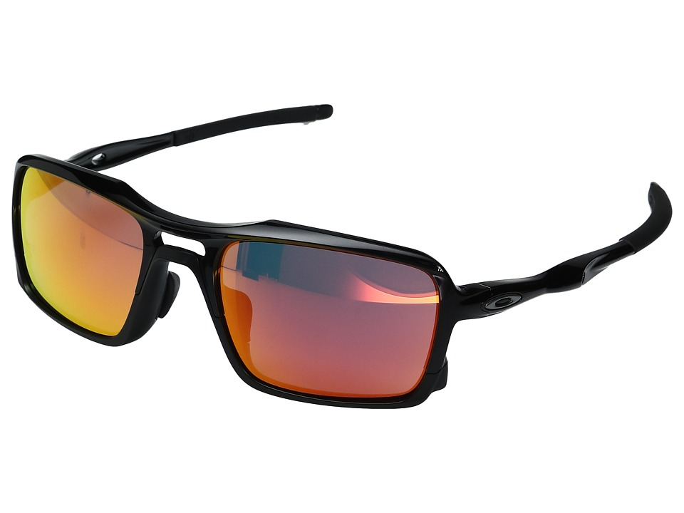 Oakley - (A) Triggerman (Polished Black/Ruby Iridium) Snow Goggles