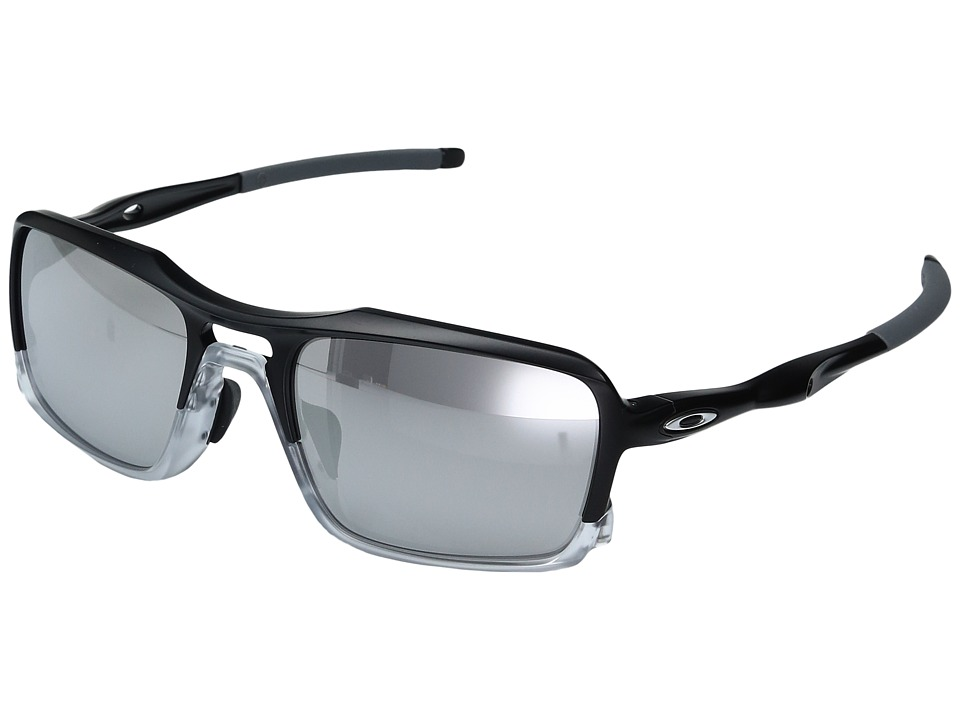 Oakley - (A) Triggerman (Matte Black/Chrome Iridium) Snow Goggles