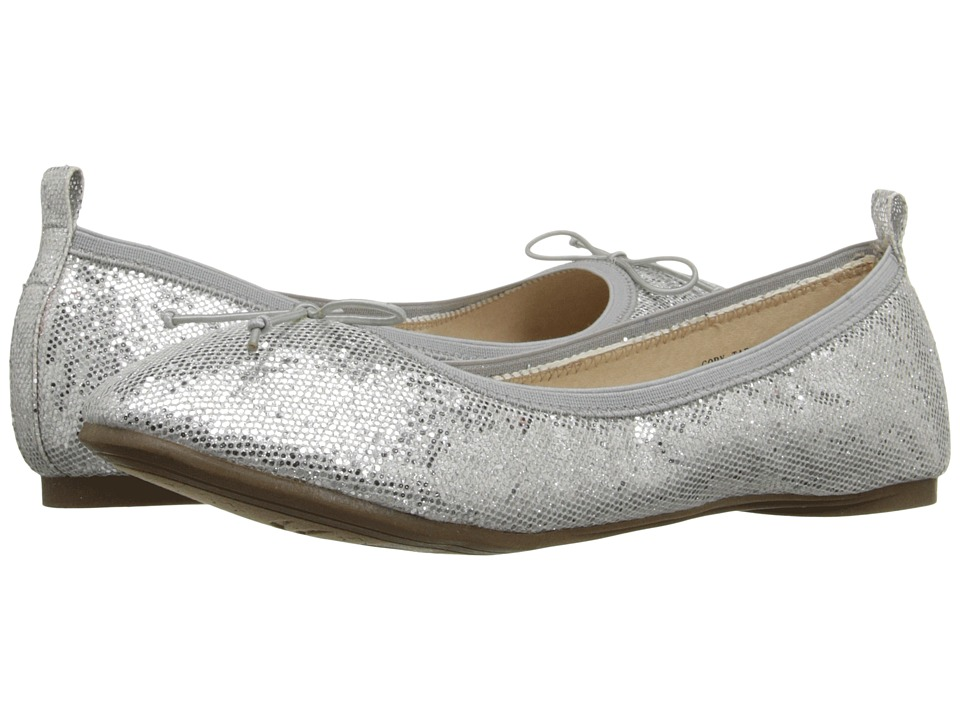 Kenneth Cole Reaction Kids - Copy Tap (Little Kid/Big Kid) (Silver Shimmer) Girls Shoes