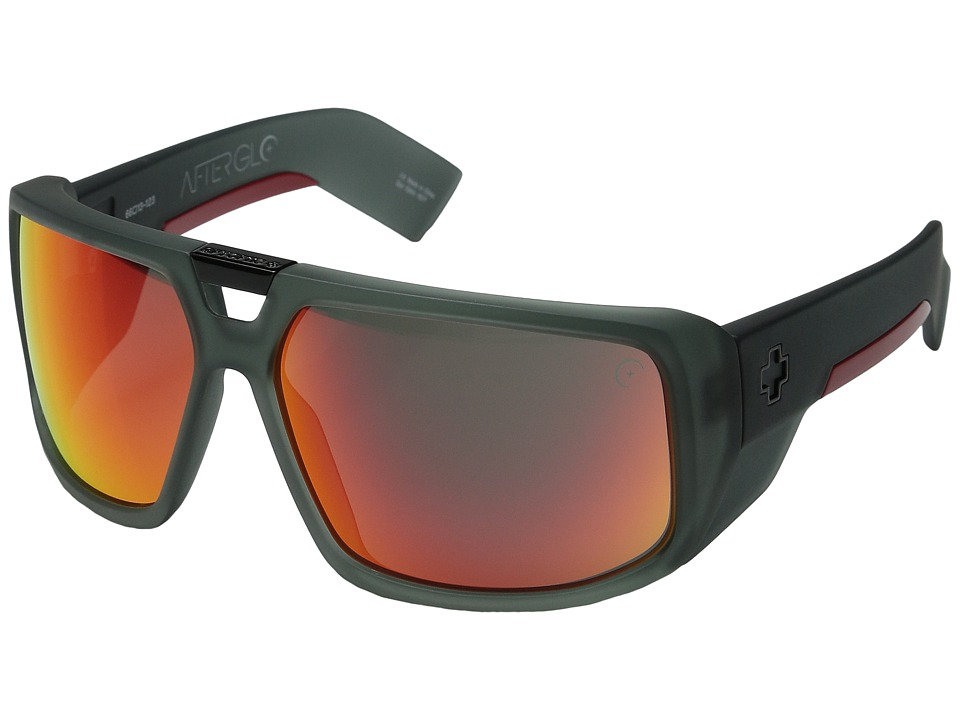 Spy Optic - Touring AG (Cherry Bomb/Gray/Red Spectra) Sport Sunglasses