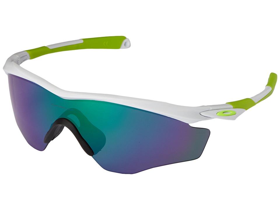 Oakley - M2 Frame XL (Polished White/Jade Iridium) Snow Goggles