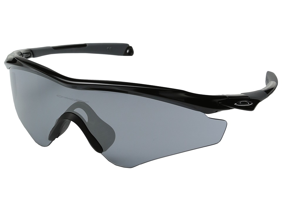 Oakley - (A) M2 Frame XL (Polished Black/Slate Iridium) Snow Goggles