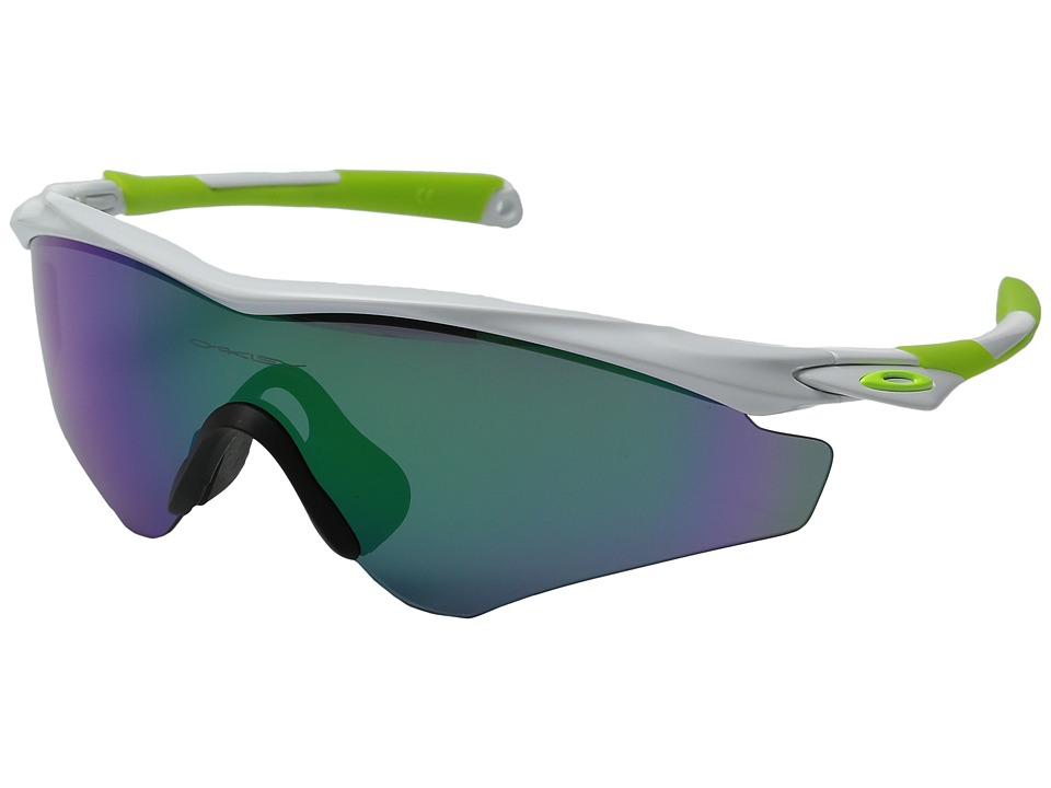 Oakley - (A) M2 Frame XL (Polished White/Jade Iridium) Snow Goggles