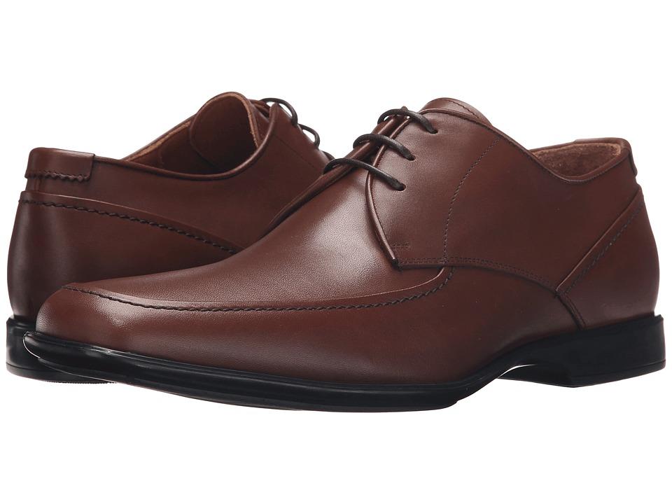 Aquatalia - Xenon (Nut Leather) Men's Lace Up Moc Toe Shoes