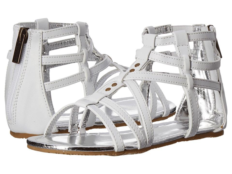 Kenneth Cole Reaction Kids - Daylo Gladiator (Little Kid/Big Kid) (White) Girls Shoes
