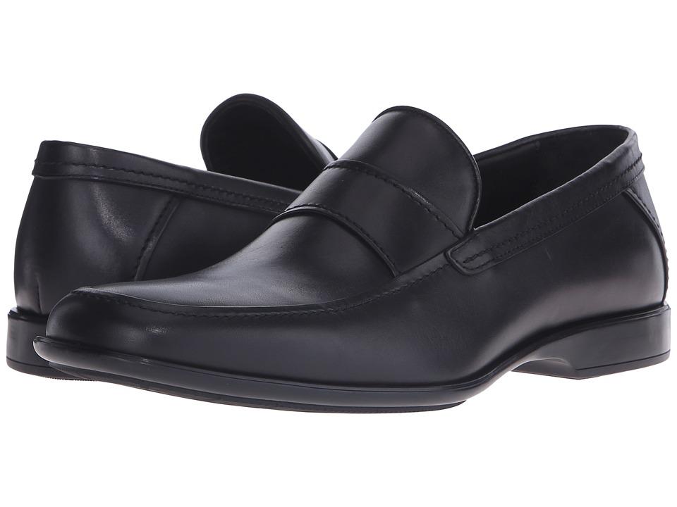 Aquatalia Xaver (Black Leather) Men
