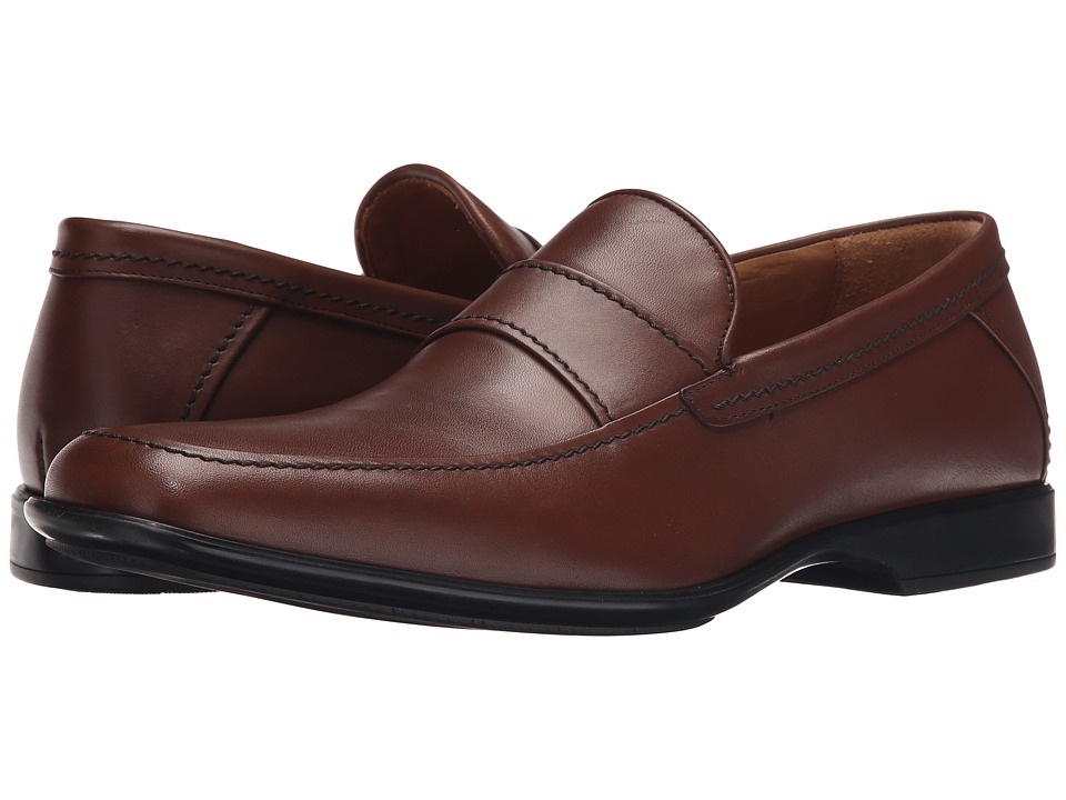 Aquatalia - Xaver (Nut Leather) Men's Slip on Shoes