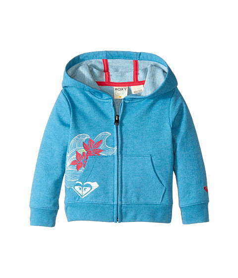Roxy Kids - Catch A Wave Hoodie (Infant) (Caribbean Sea) Girl