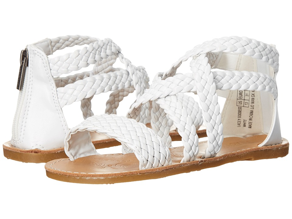 Kenneth Cole Reaction Kids - Lacey Goddess (Little Kid/Big Kid) (White) Girls Shoes