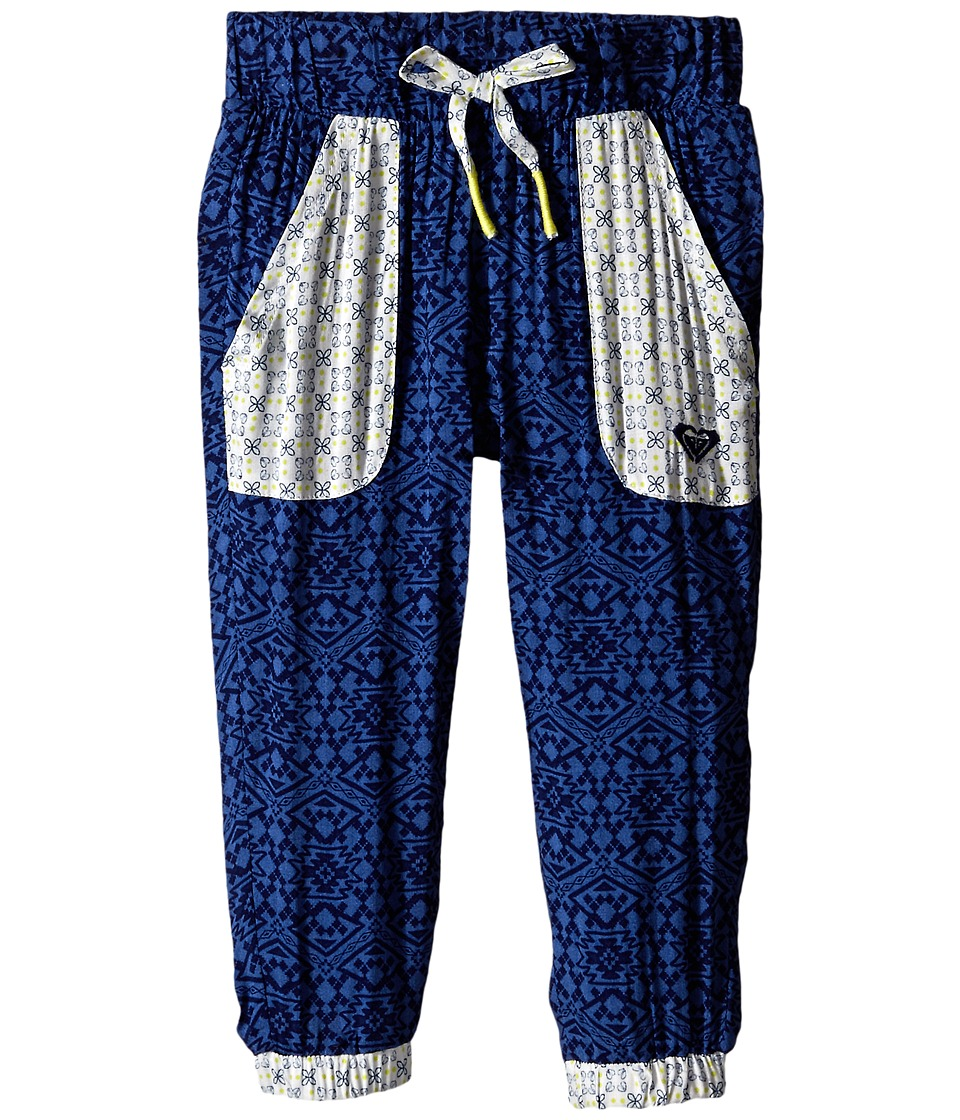 Roxy Kids - Gnarly Pants (Toddler/Little Kids) (Dutch Blue) Girl's Casual Pants