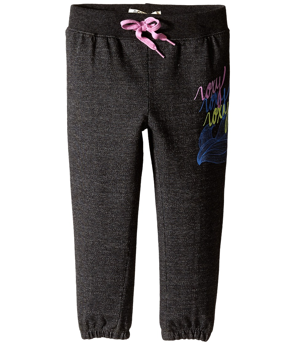 Roxy Kids - Catch A Wave Pants (Toddler/Little Kids) (Black) Girl's Casual Pants