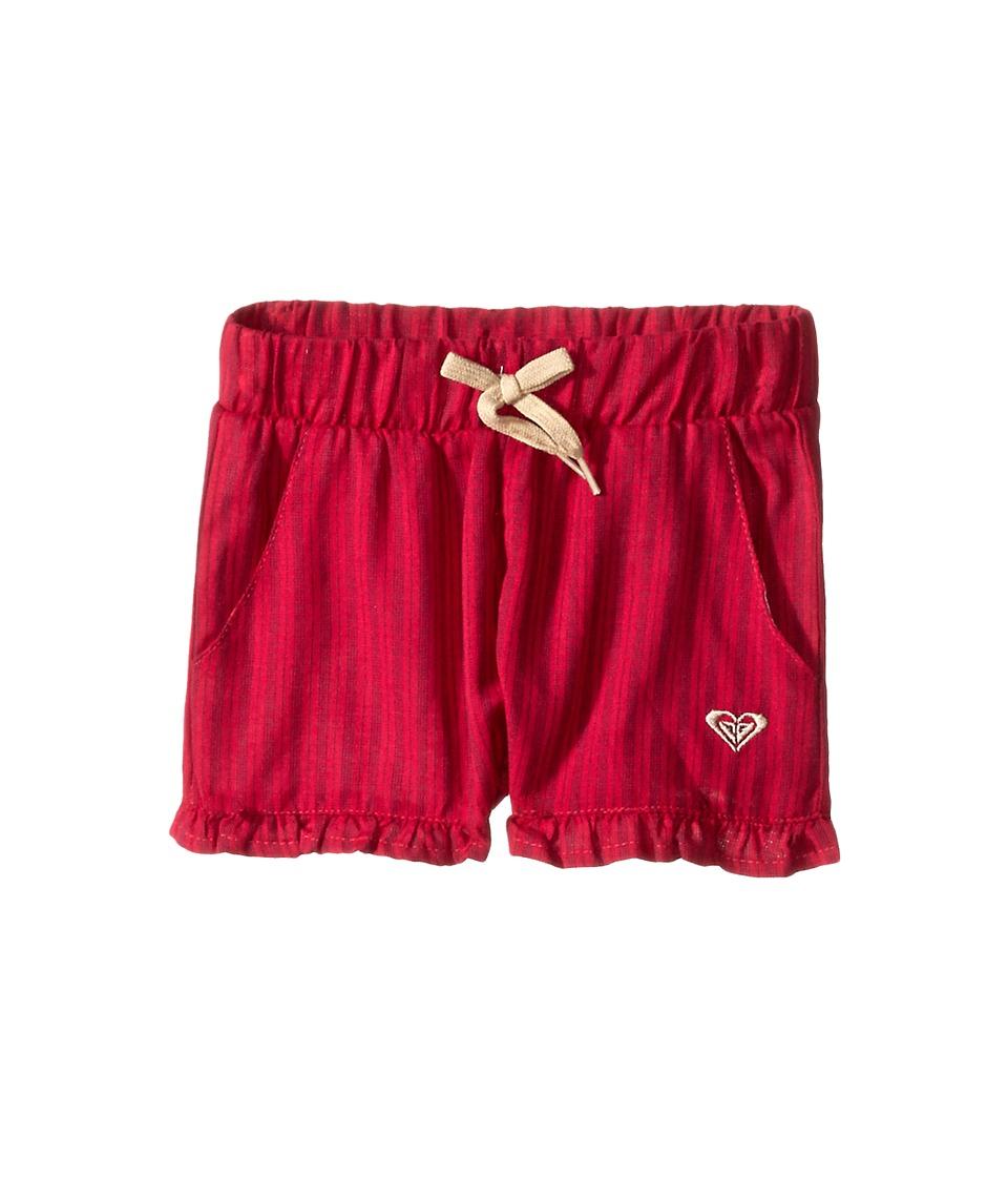 Roxy Kids - Ruffled Up Shorts (Toddler/Little Kids) (Cerise) Girl's Shorts