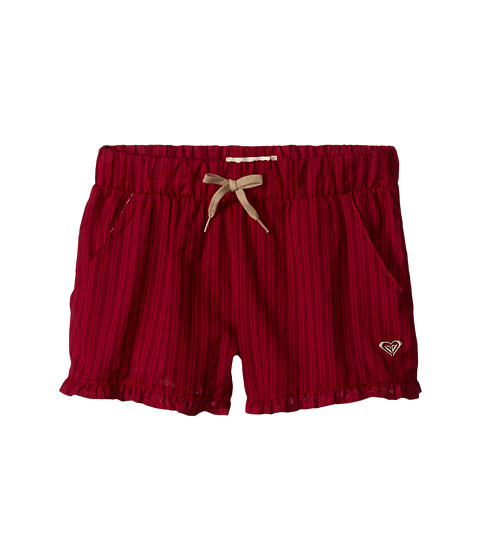 Roxy Kids - Ruffled Up Shorts (Big Kids) (Cerise) Girl