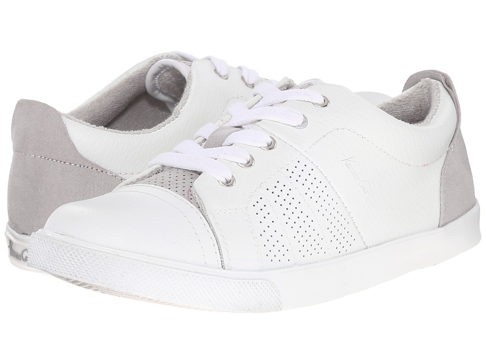 Kenneth Cole Reaction Kids - Fence-Ing (Little Kid/Big Kid) (White/Grey) Boys Shoes