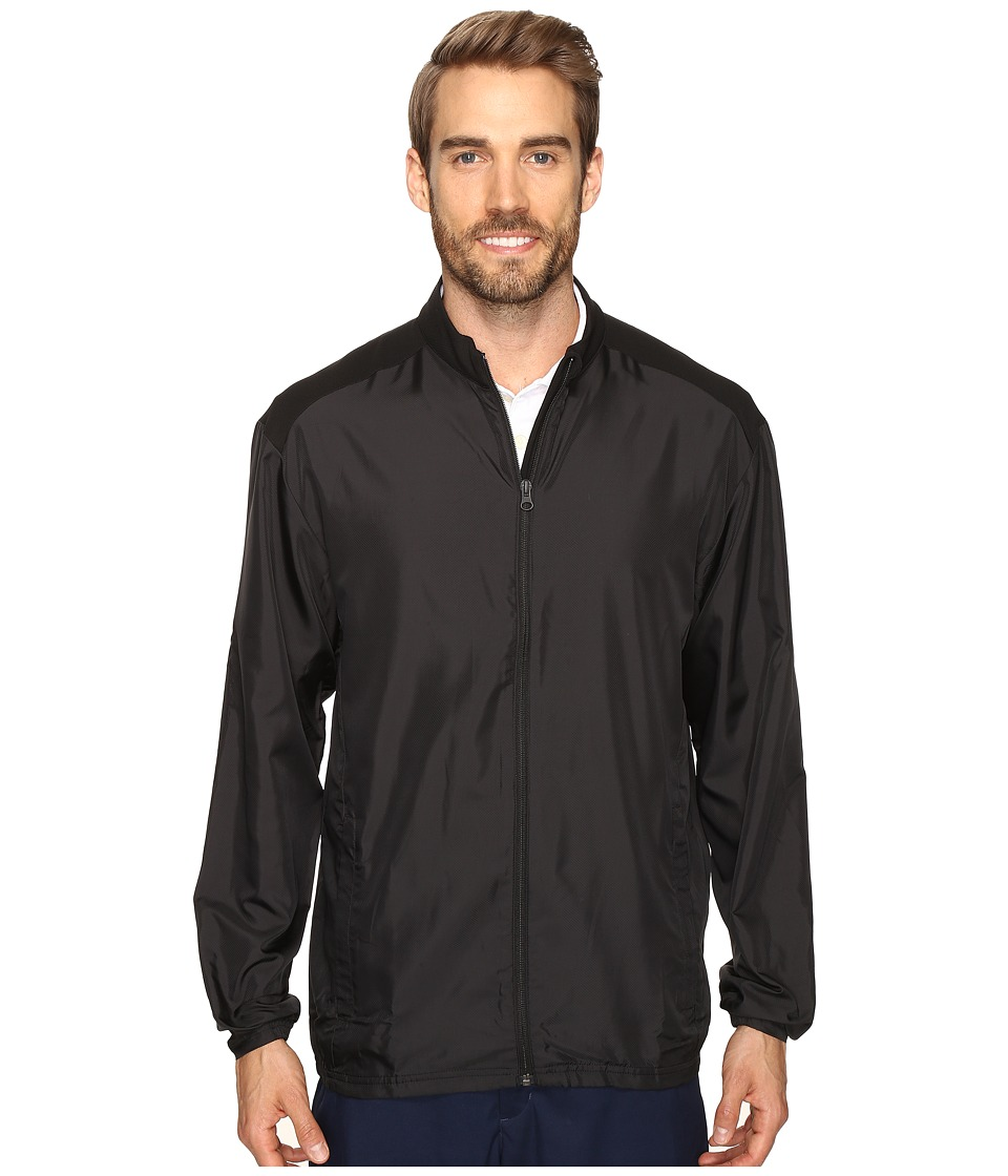 adidas Golf - Club Wind Jacket (Black) Men's Coat