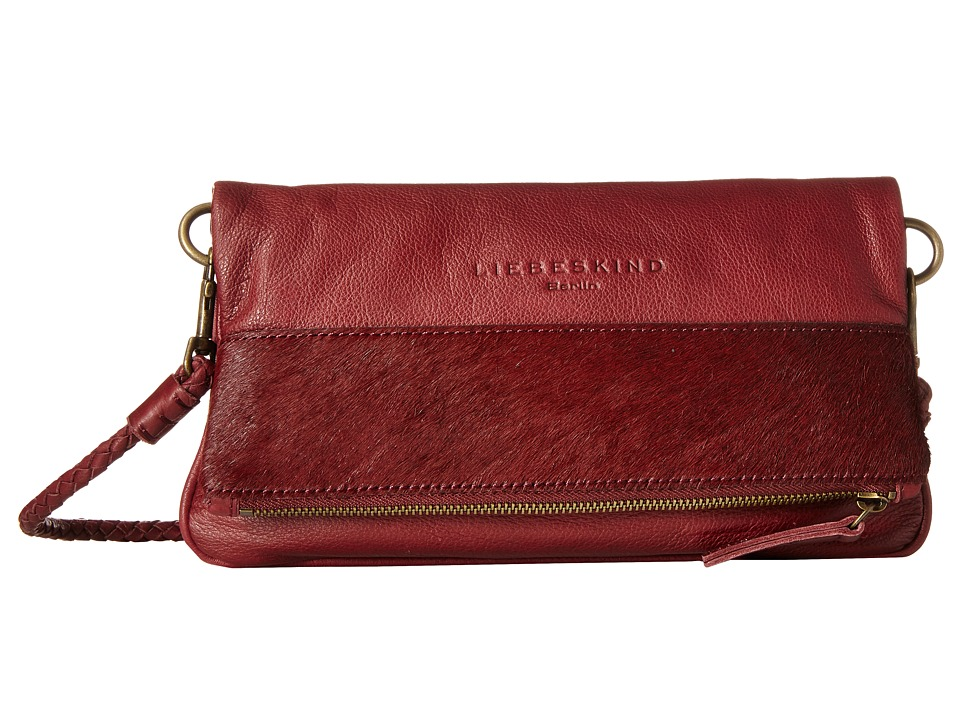 Liebeskind - Aloe (Dark Red Grape) Handbags