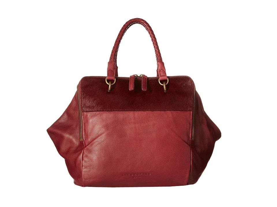 Liebeskind - Kayla (Dark Red Grape) Handbags