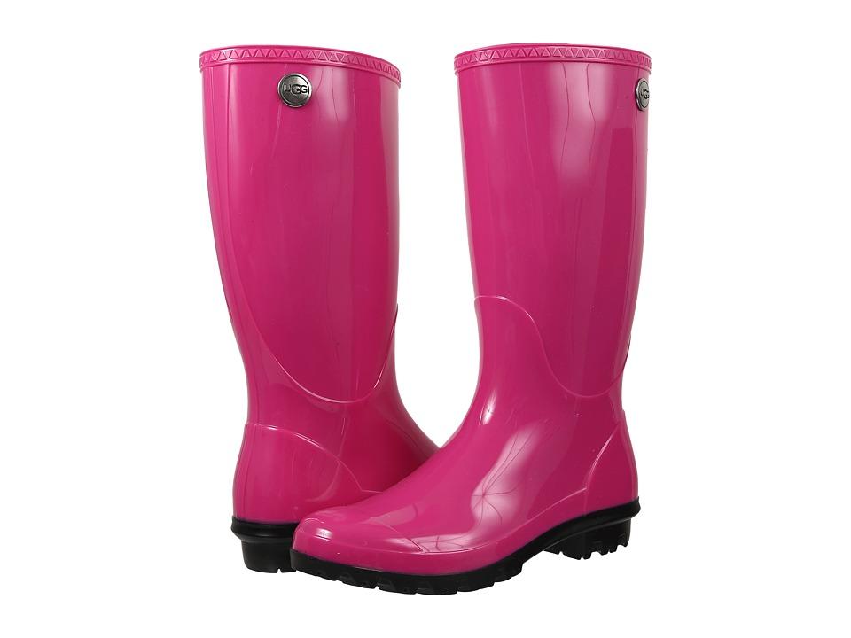 UGG - Shaye (Furious Fuchsia) Women's Rain Boots