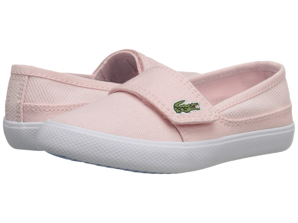 Lacoste Kids - Marice 116 1 SP16 (Toddler/Little Kid) (Light Pink/Light Blue) Girl