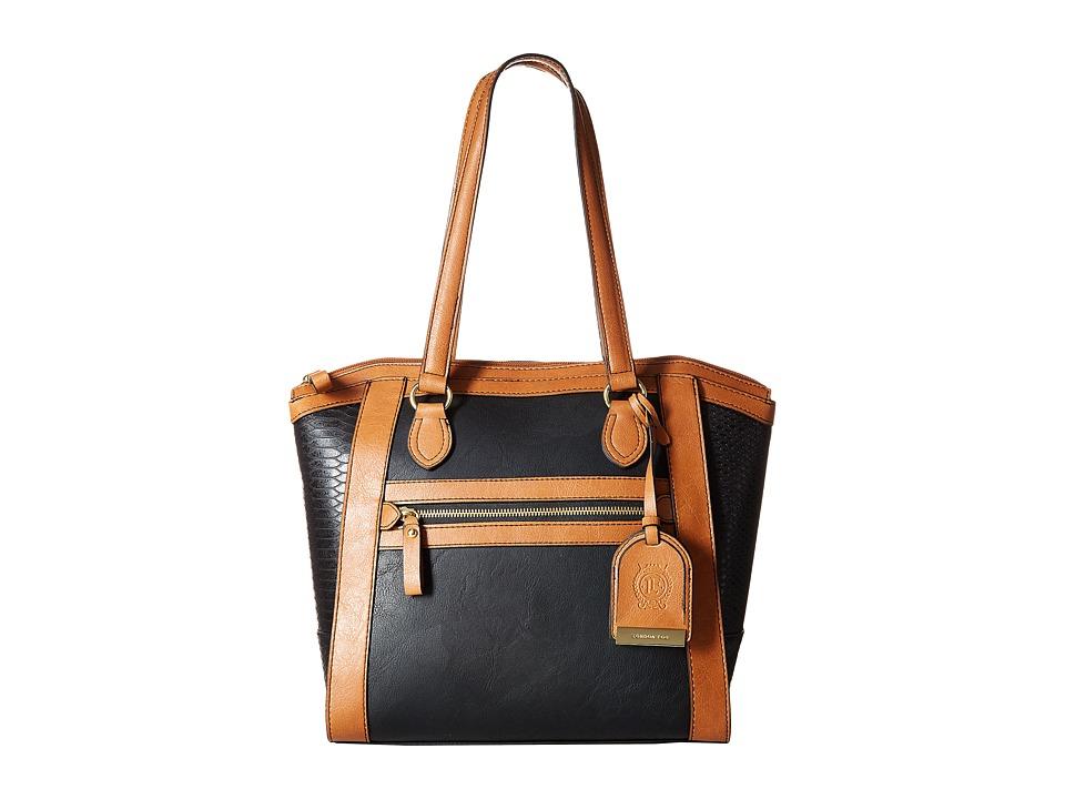 London Fog - Fielding Tote (Black) Tote Handbags