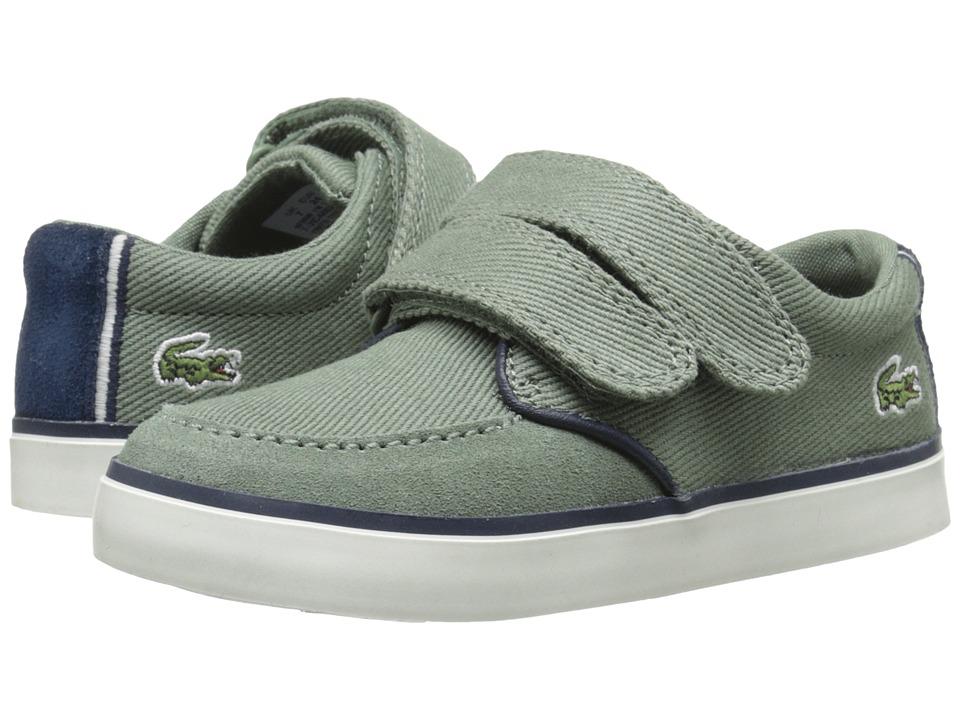 Lacoste Kids - Sevrin 116 1 SP16 (Toddler/Little Kid) (Light Khaki) Boy's Shoes
