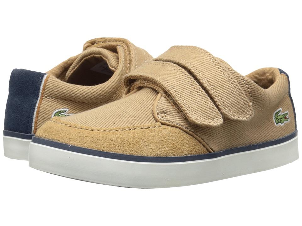 Lacoste Kids - Sevrin 116 1 SP16 (Toddler/Little Kid) (Light Tan) Boy's Shoes