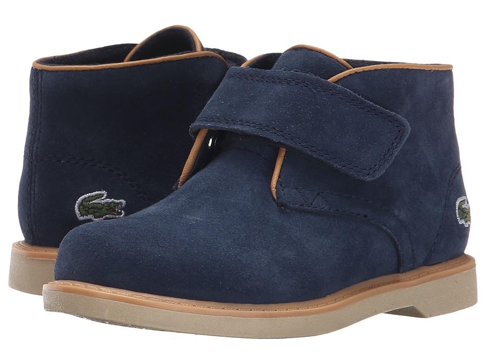 Lacoste Kids - Sherbrooke 116 1 SP16 (Toddler/Little Kid) (Navy) Boy's Shoes