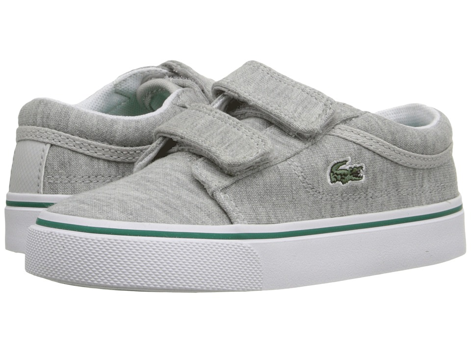 Lacoste Kids - Vaultstar 116 1 SP16 (Toddler/Little Kid) (Light Grey) Kid's Shoes