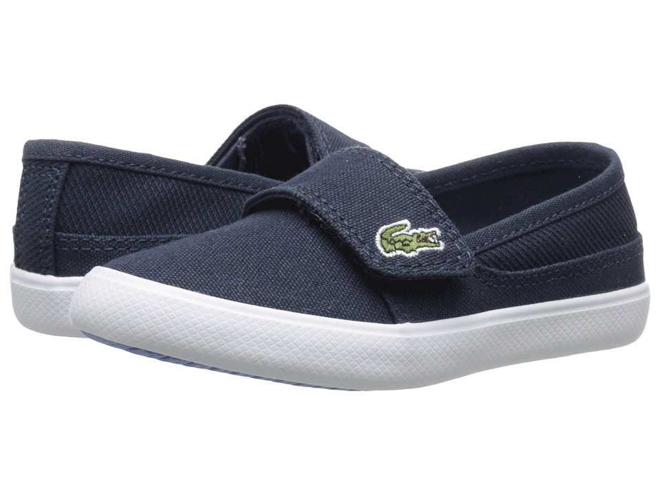 Lacoste Kids - Marice 116 1 SP16 (Toddler/Little Kid) (Navy/Blue) Kid's Shoes