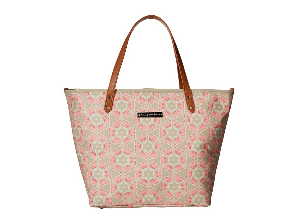 petunia pickle bottom - Glazed Downtown Tote (Blooming Brixham) Tote Handbags