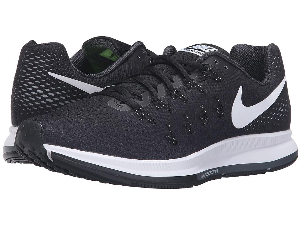 Nike - Air Zoom Pegasus 33 (Matte Silver/White/Volt/Black) Men's Running Shoes