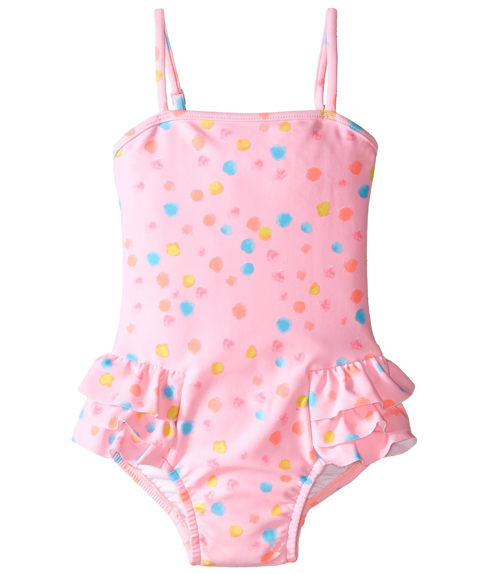 Seafolly Kids - Spring Bloom Tube Tank One-Piece (Infant/Toddler/Little Kids) (Multi Spot) Girl's Swimsuits One Piece