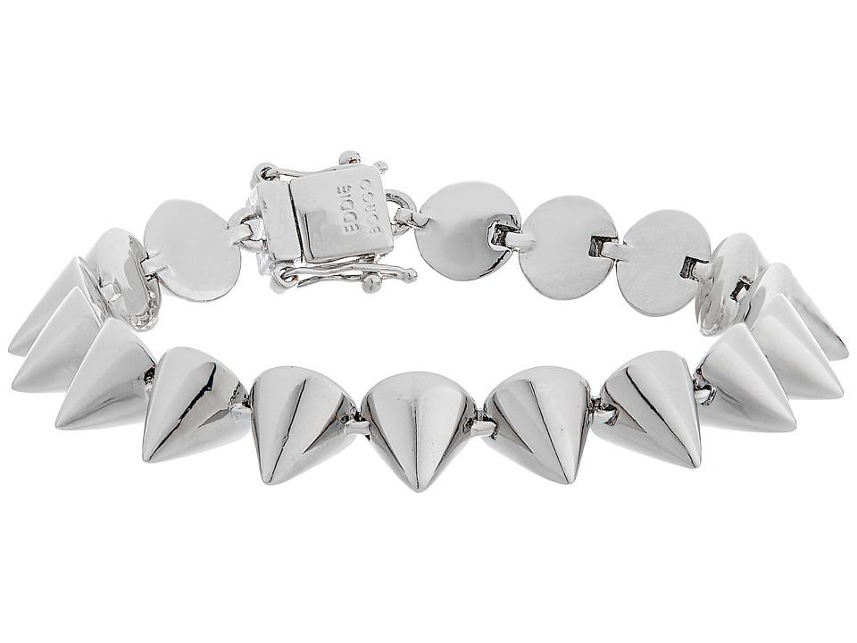 Eddie Borgo - Small 17 Cone Bracelet (Silver) Bracelet