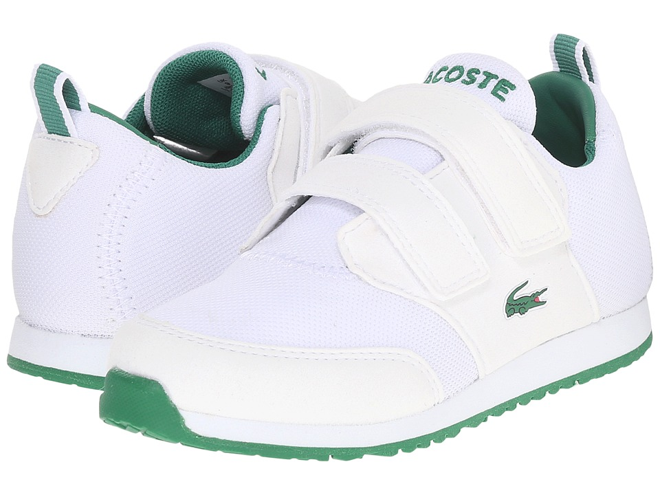 Lacoste Kids - L.ight 116 1 SP16 (Toddler/Little Kid) (White) Kid